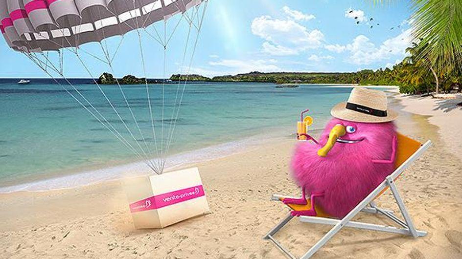 Con vente-privee lo shopping non va in vacanza!