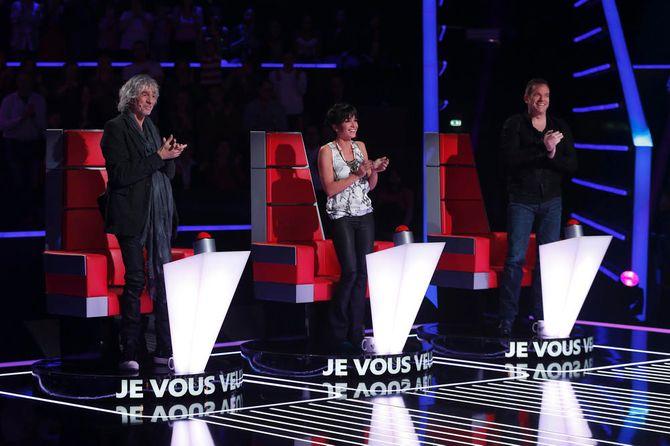 Louis Bertignac, Jenifer et Garou, coachs de The Voice Kids