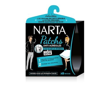 Patch anti-auréoles, Narta, 5,14 €