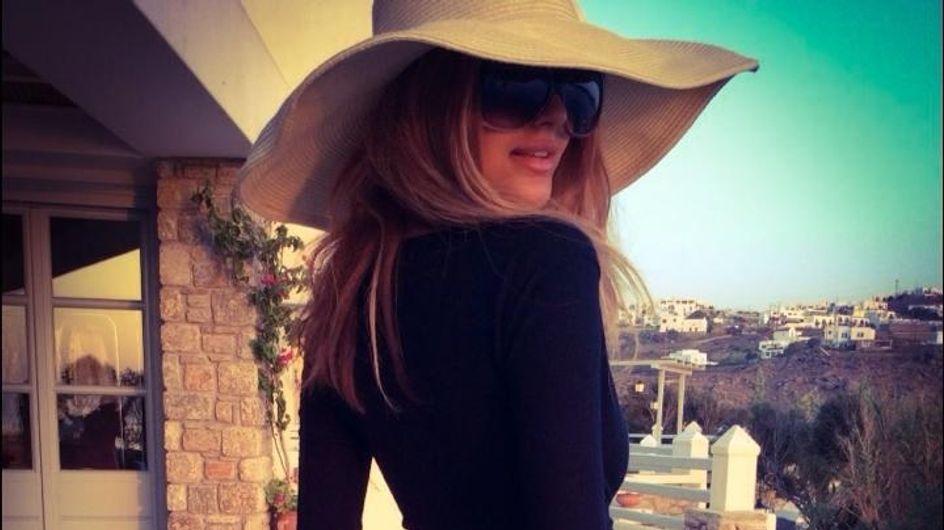 Zahia : Ses photos hot à Mykonos