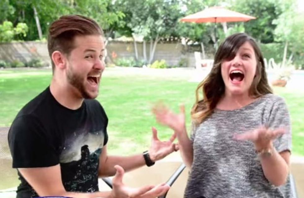 This Couple Wins The Prize For Most Awesome Pregnancy Announcement Ever