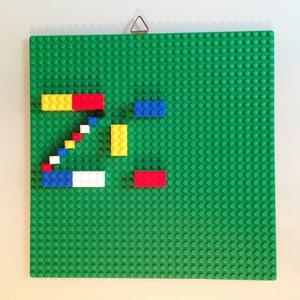 Etape 3 - Tuto écriteau personnalisé LEGO