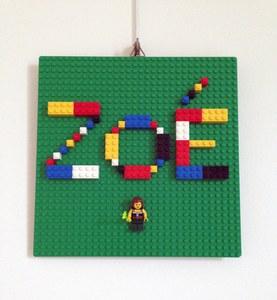 Etape 5 - Tuto écriteau personnalisé LEGO
