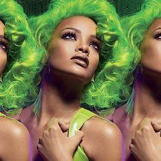 Pour M.A.C, Rihanna ose les cheveux verts