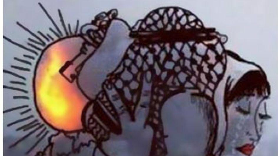 Artistas palestinos crean otra perspectiva de la guerra