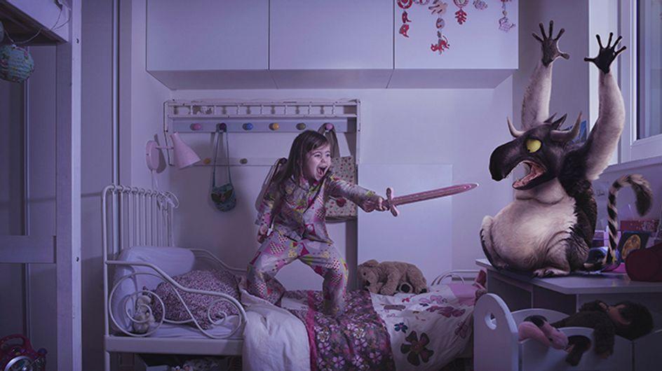Irgendwelche Monster unter dem Bett? Diese Bilder von mutigen Kindern sind einfach nur FANTASTISCH!