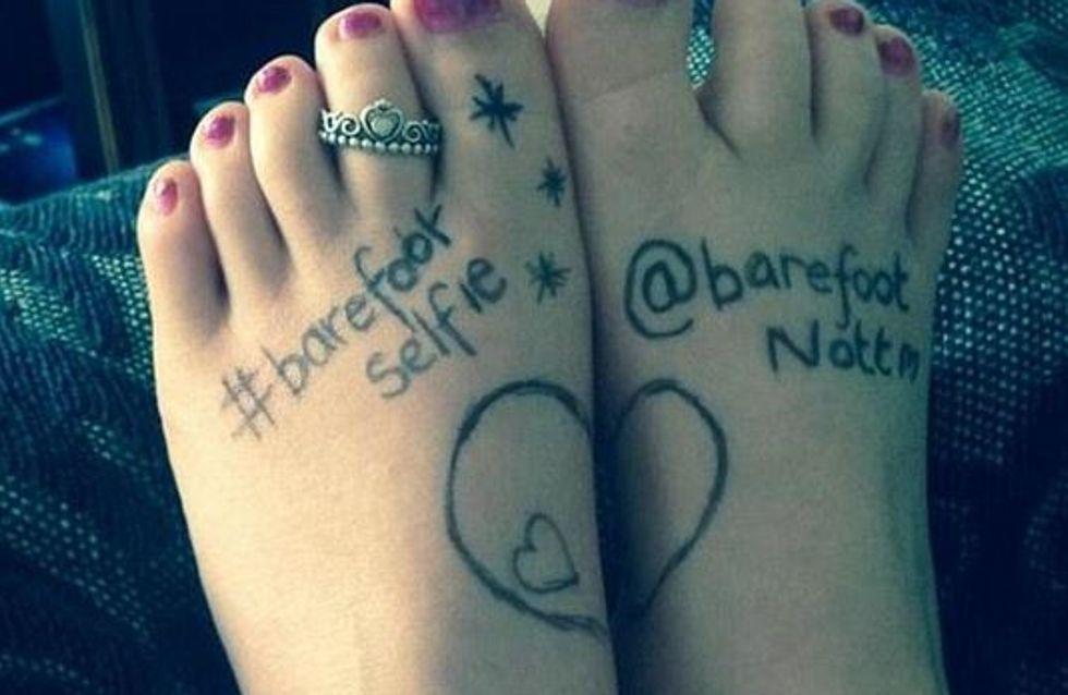 #Barefootselfie : Prendre en photo ses pieds pour aider ceux qui n'ont pas de quoi les chausser