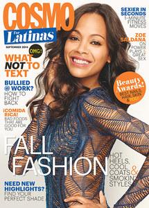 Zoe Saldana pour Cosmo for Latinas