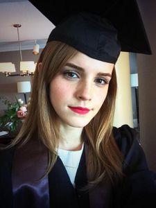 Emma Watson, pas afgestudeerd