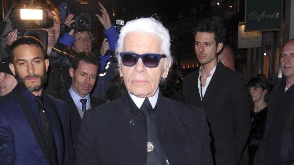 Karl Lagerfeld lässt nicht nur andere gut aussehen!