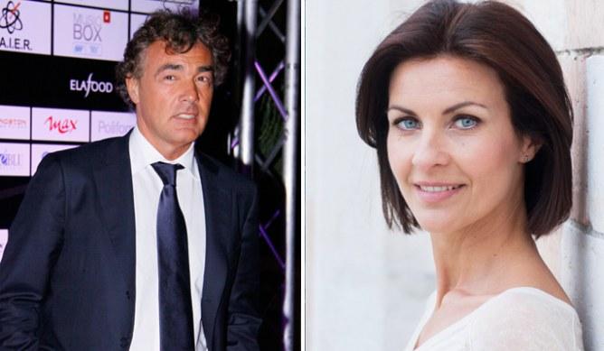 Massimo Giletti e Alessandra Moretti