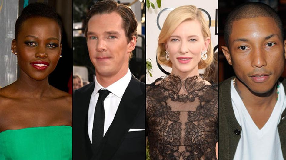 Lupita Nyong'o, Cate Blanchett, Benedict Cumberbatch, Pharrell Williams : Qui sont les stars les plus stylées de 2014 ?