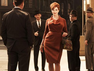Christina Hendricks dans Mad Men