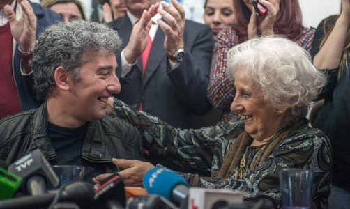 Estela Carlotto retrouve son petit-fils après 36 ans de séparation