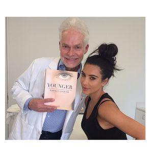 Kim Kardashian et son dermatologue