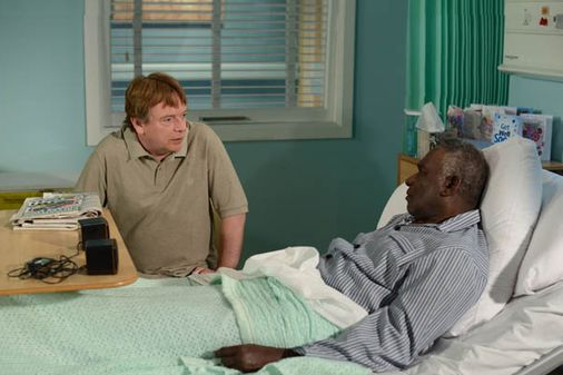 Denise's optimism about Patrick worries Ian