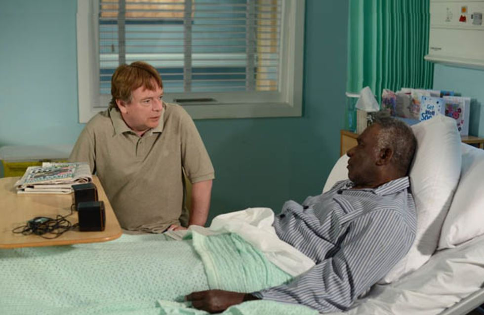Eastenders 18/08 – Denise's optimism about Patrick worries Ian