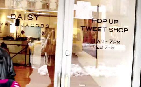 Un pop up store Marc Jacobs à Londres