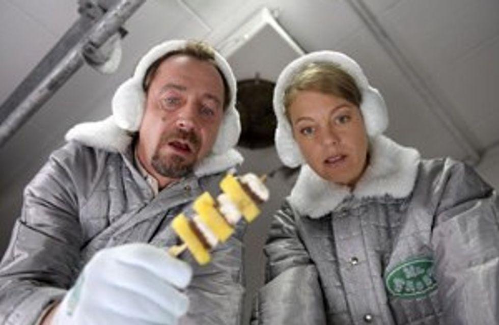 'Arschkalt': Herbert Knaup brilliert als grantiger Tiefkühlwaren-Fahrer!