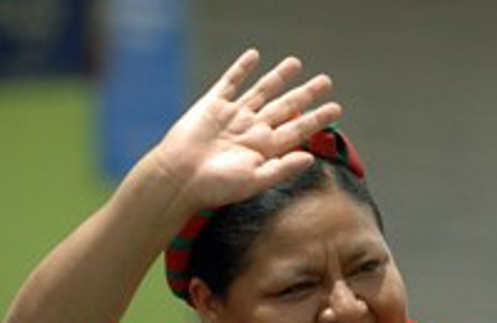 Rigoberta Menchú: Friedensnobelpreisträgerin wird 53