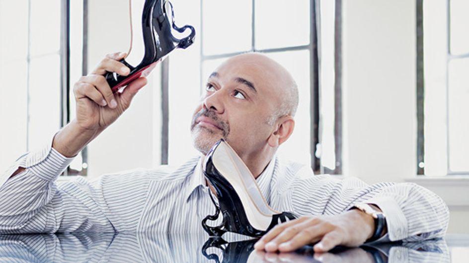Christian Louboutin y Angelina Jolie crean el zapato perfecto para Maléfica