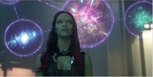Zoe Saldana - Les Gardiens de la galaxie
