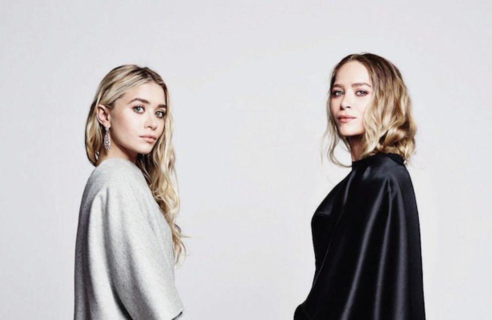 The Row : Mary-Kate et Ashley Olsen prennent la pose dans leurs propres créations