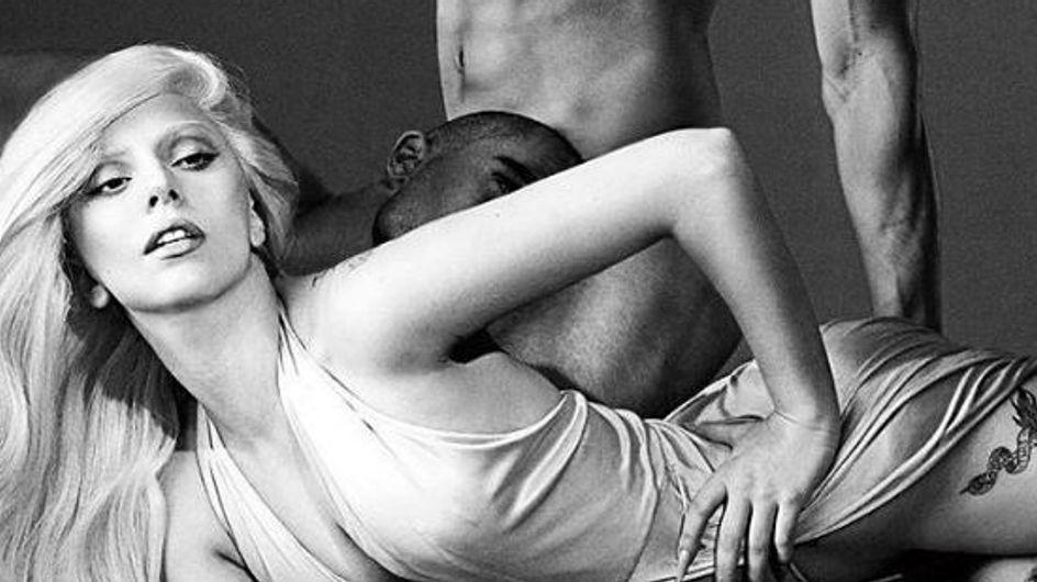 Lady Gaga : Femme fatale pour son Eau de Gaga (Photos)