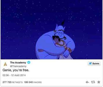 Les stars pleurent Robin Williams sur Twitter