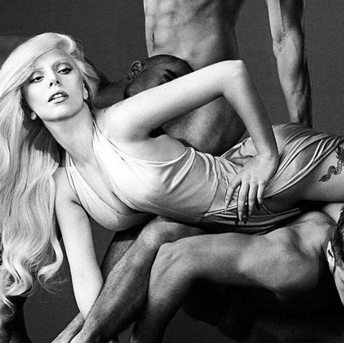 Lady Gaga pour Eau de Gaga