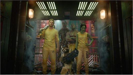 Les 4 héros des Gardiens de la Galaxie