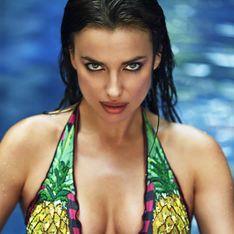 Irina Shayk : Torride pour la nouvelle collection de bikinis d'Agua Bendita (Photos et vidéo)