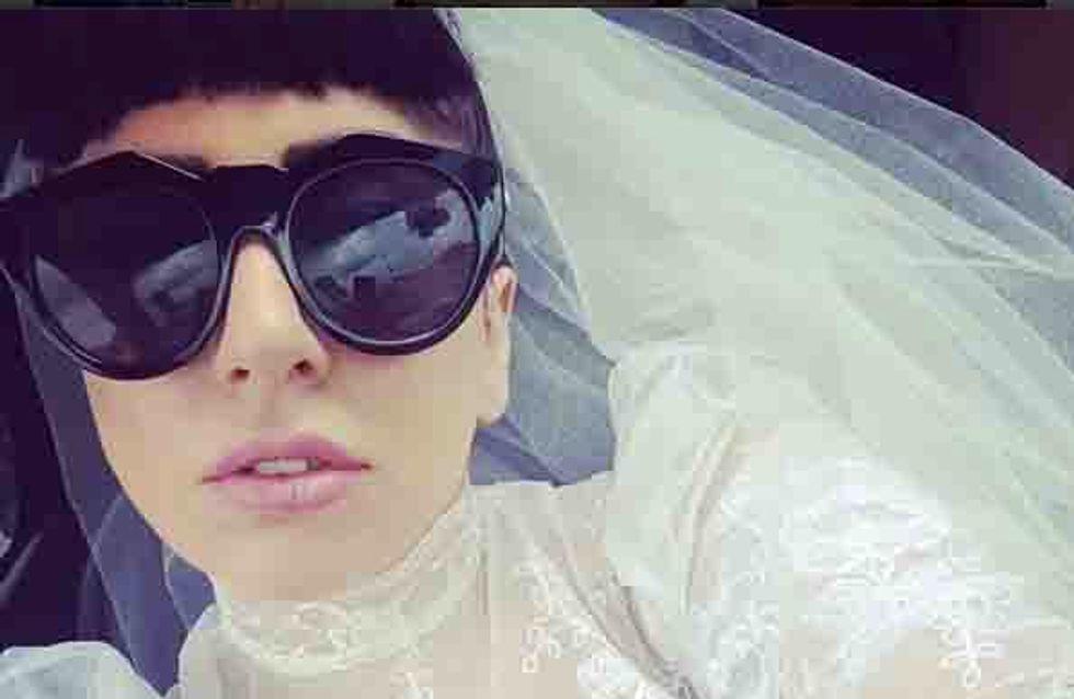 Lady Gaga est-elle en train d'annoncer son mariage sur Instagram ? (photo)