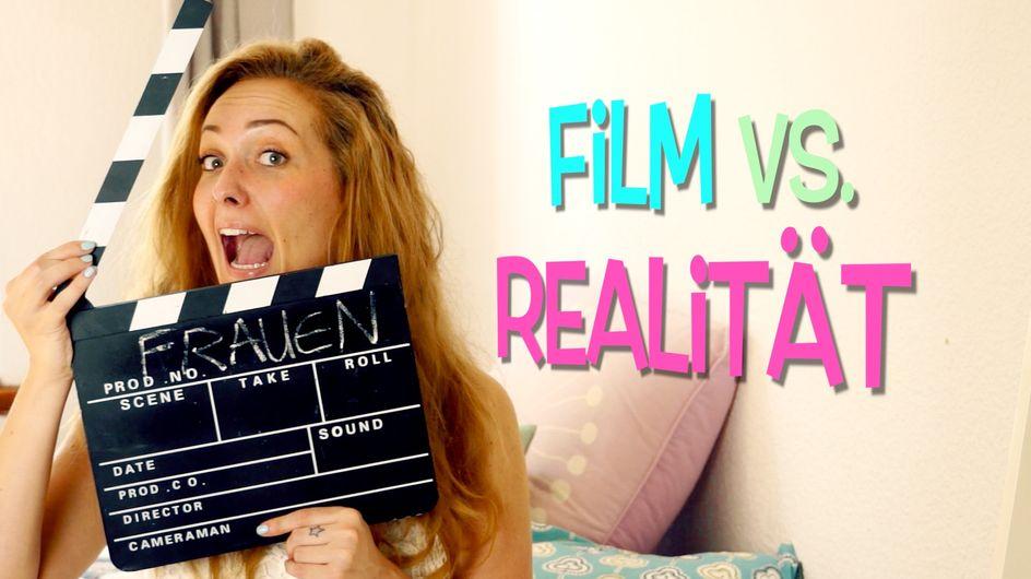 Ungeschminkt & ungeschönt: So sehr unterscheiden sich Frauen im Film von der Realität