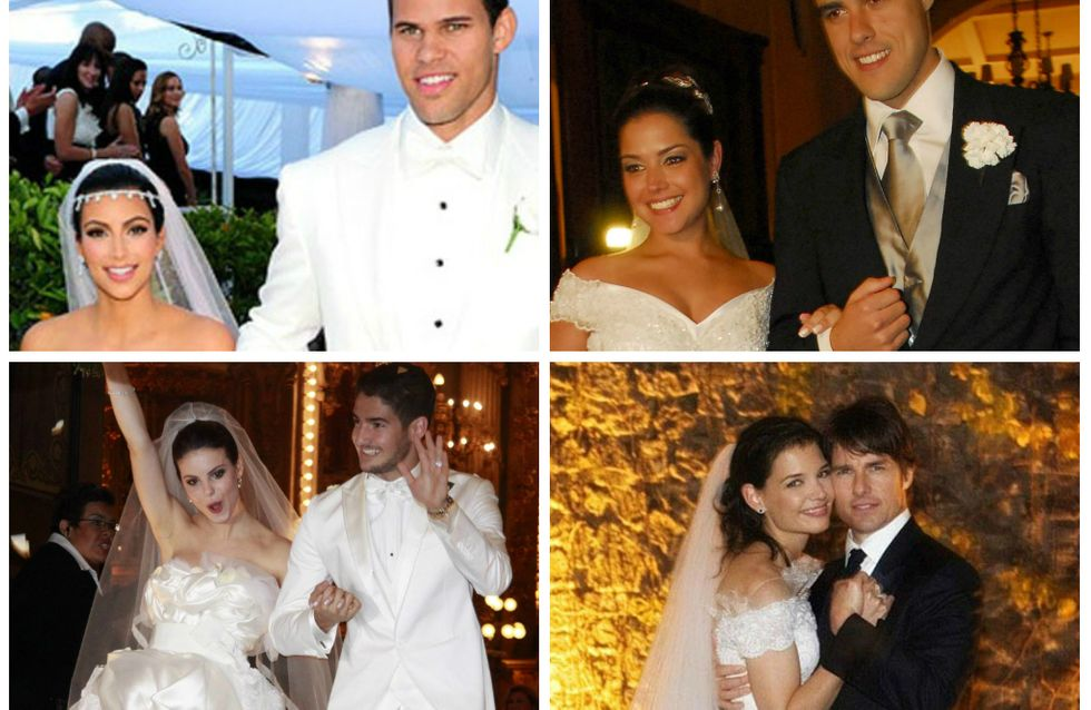 Para que esperar? 15 casamentos-relâmpago das celebs