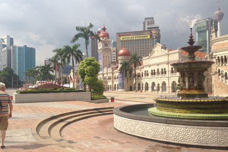 Kuala Lumpur : la place de l'Indépendance