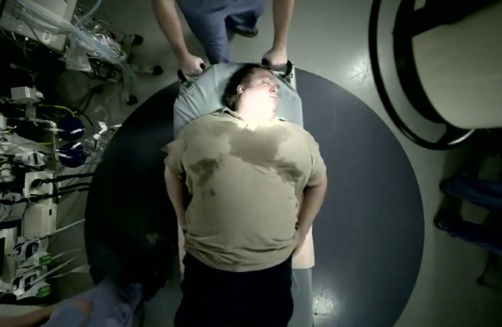 Rewind the Future : La campagne anti-obésité qui choque (Vidéo)