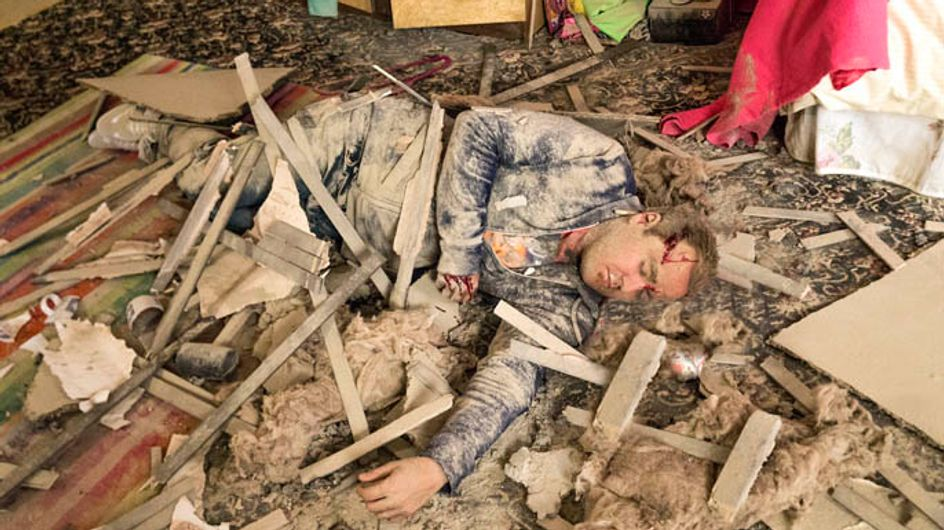 Coronation Street 25/08 – Tyrone has a terrible accident