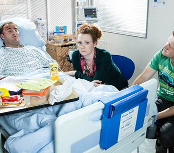 Coronation Street 27/08 – The implications of Tyrone's accident hit home