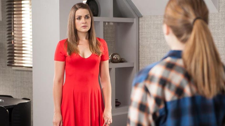 Hollyoaks 26/08 – Nico is outraged when she finds out about her mother's lie
