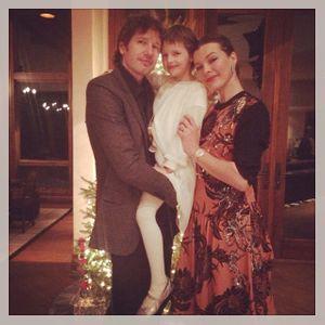 Milla Jovovich, sa fille et son mari