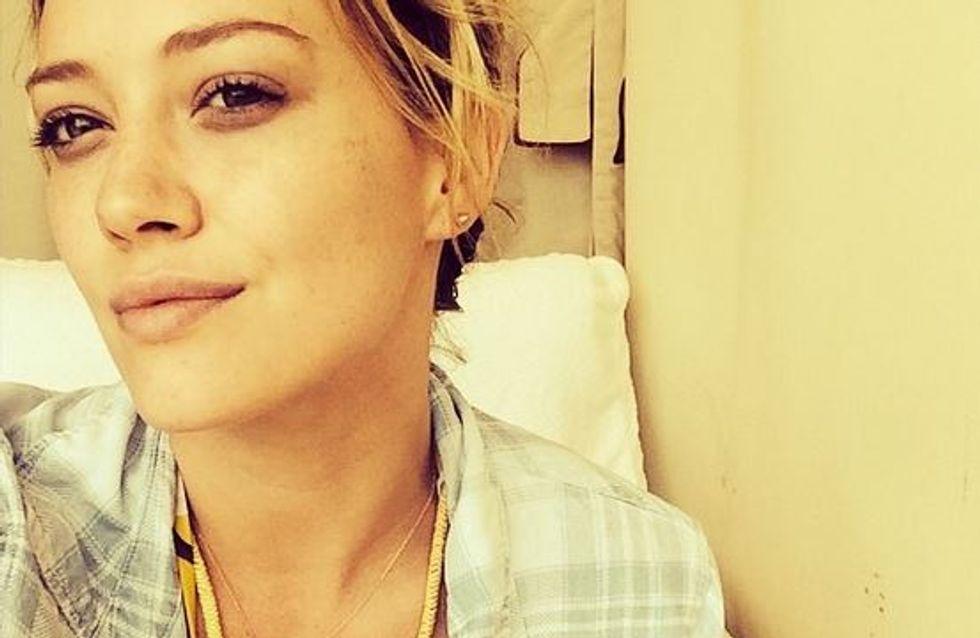 Hilary Duff : Son selfie sans make-up à la plage (Photo)