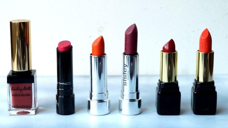 4 rouges à lèvres démentiels