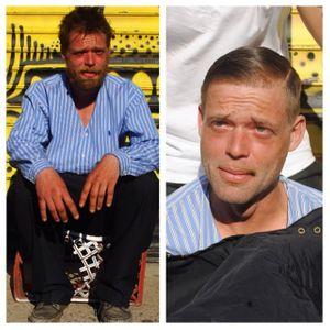 Mark Bustos aide les sans-abris en les coiffant gratuitement dans la rue