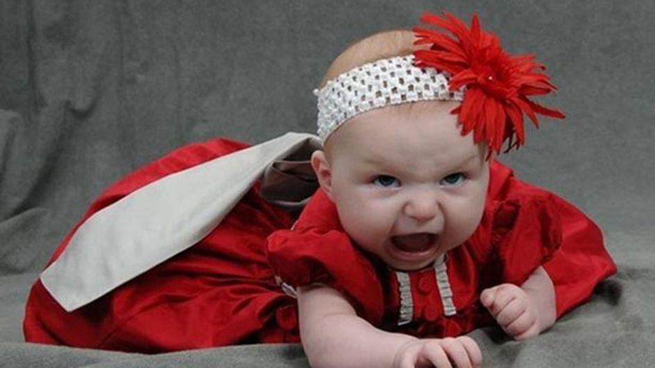 De meest hilarische babyfoto's ooit!