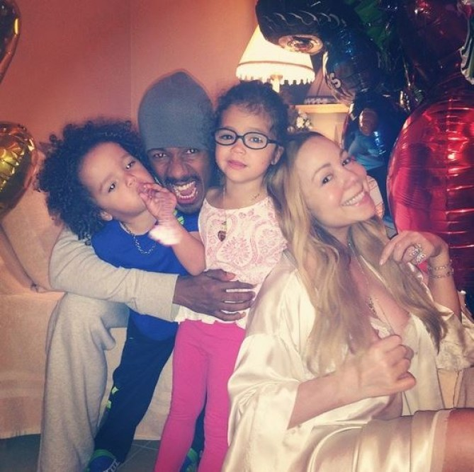 La dernière photo de famille postée par Mariah Carey à l'occasion de la fête des pères