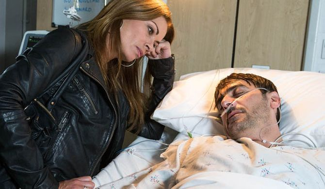 Carla goes to Peter's death bed