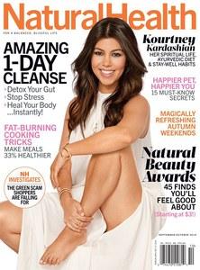 Kourtney Kardashian pour Natural Health