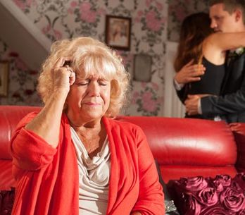 Hollyoaks 02/09– Grace rushes to Nana McQueen's aid
