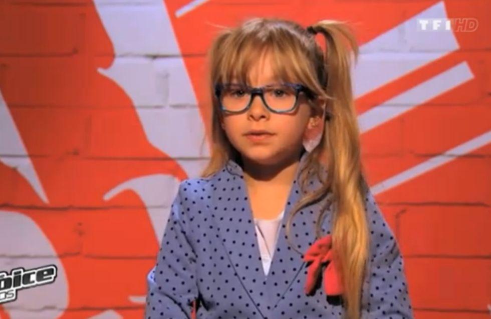 The Voice Kids : Gloria, l'adorable petite princesse de 6 ans (Vidéo)